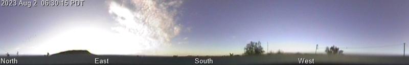 GMARS All-Sky Camera: Latest Panoramic Image