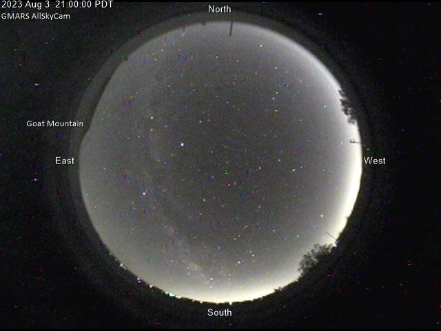 GMARS All-Sky Camera: Latest Image