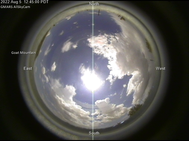 GMARS All-Sky Camera: Latest Image