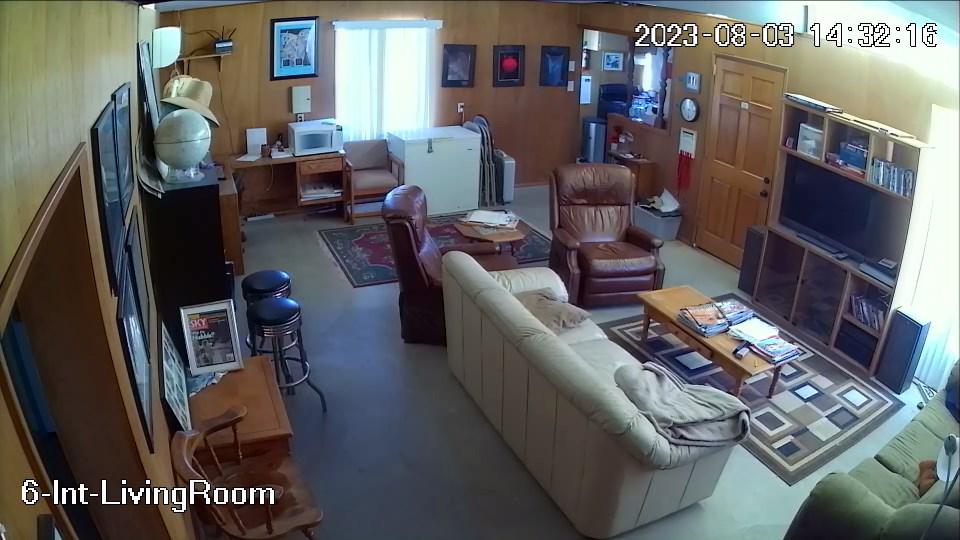 GMARS House Cam — Living Room