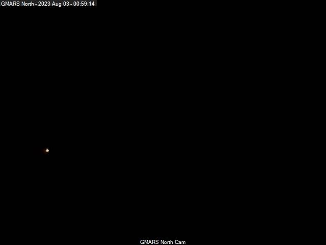 GMARS North View Camera: Latest Image