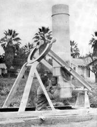 Bailey with 15-inch telescope