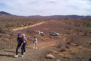The search for dark skies near Red Cloud Road in November 1999.