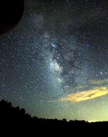 The Milky Way from the RAS's Mt. Laguna star party